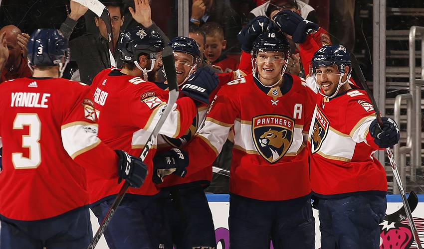 Barkov gets due recognition with first All-Star selection