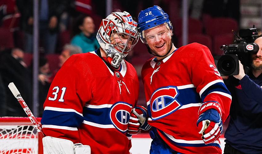 Carey Price earns 315th win to surpass Jacques Plante for most as a Canadien