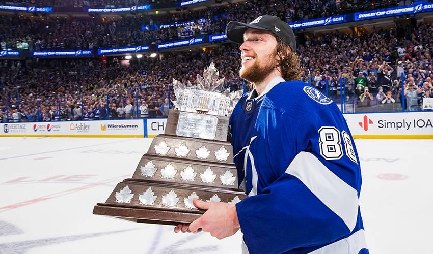 Vasilevskiy wins Conn Smythe Trophy as NHL playoff MVP