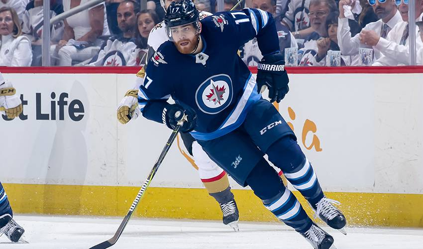 Jets sign forward Adam Lowry to three-year contract worth $8.75 million