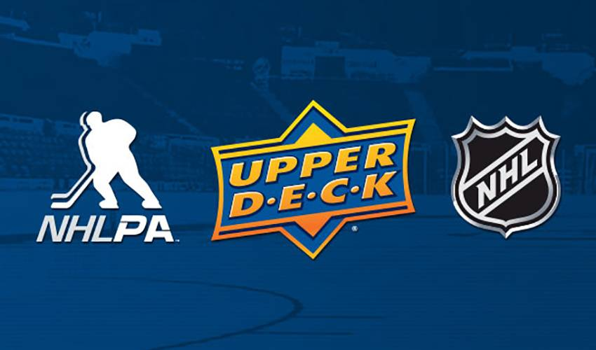 NHLPA Agrees to Multi-Year Exclusive Trading Card License with The Upper Deck Company
