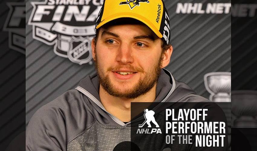 the best attitude 05efc 15e2d Sheary Shows His Worth in OT | NHLPA.com