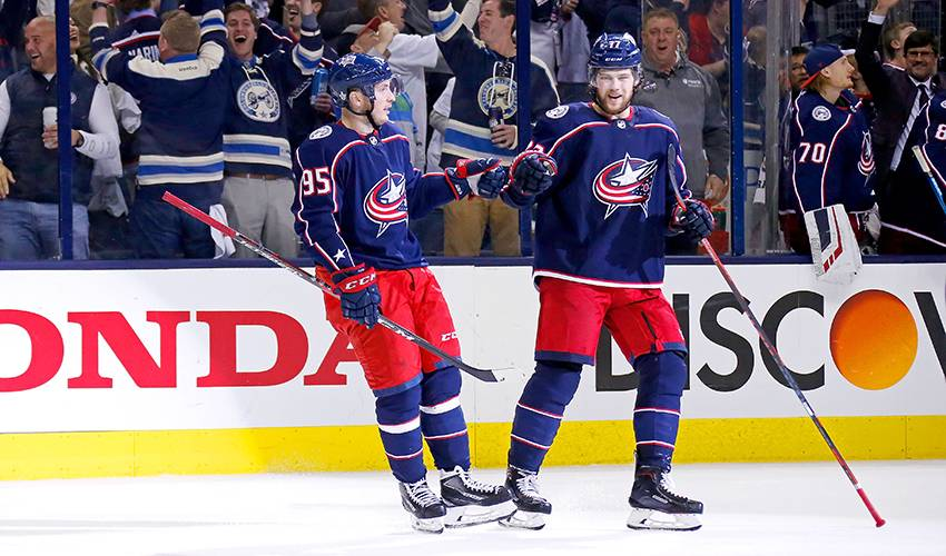 Anderson doing his part for Blue Jackets along historic run