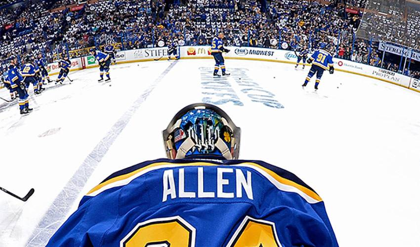 Allen Pays Homage to Home