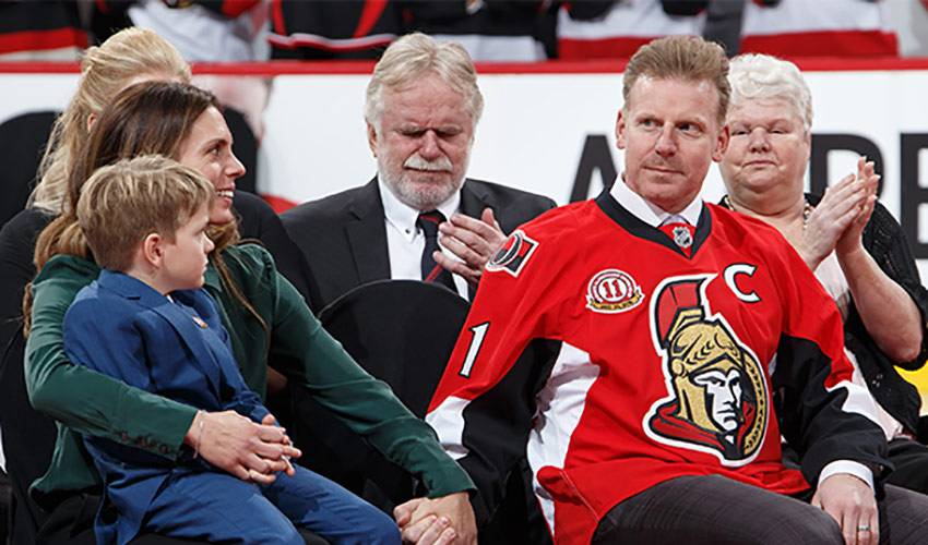 Alfredsson's legacy extends off the ice in Ottawa