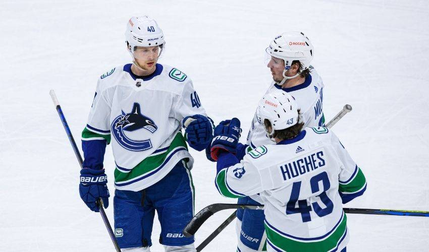 Vancouver Canucks sign stars Pettersson, Hughes to multi-year contracts