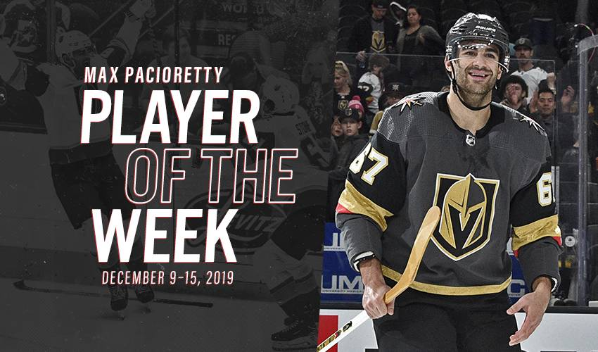 Player of the Week | Max Pacioretty