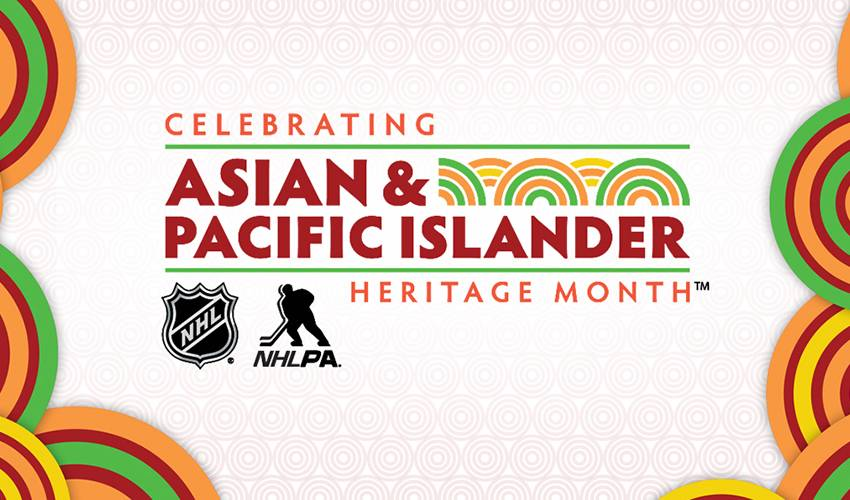 NHL, NHLPA celebrate Asian & Pacific Islander Heritage Month