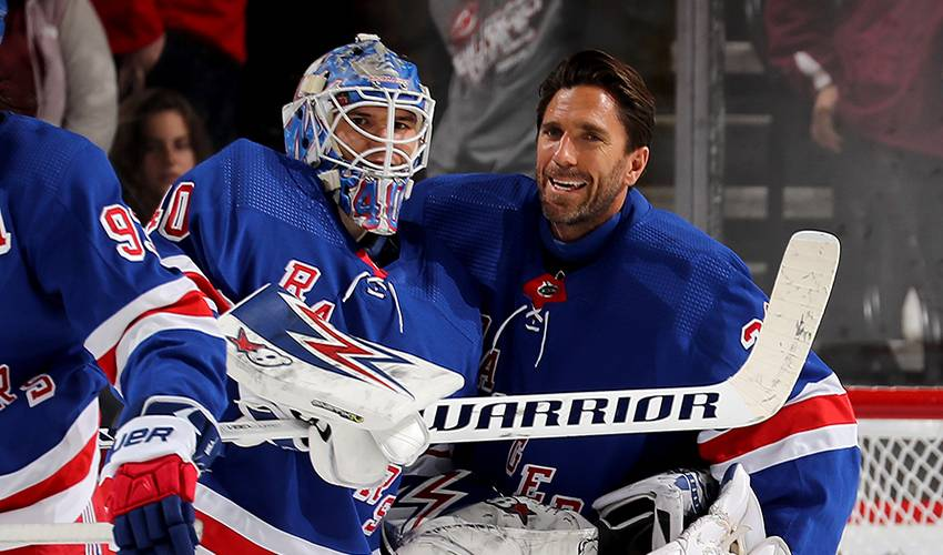 From undrafted to steady presence in Rangers net
