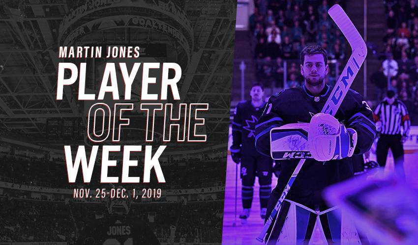 Player of the Week | Martin Jones