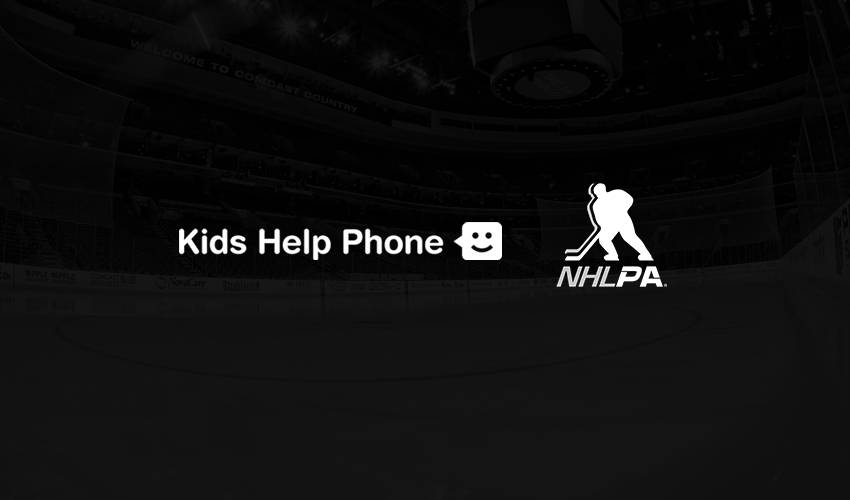 NHLPA, Kids Help Phone announce three-year partnership