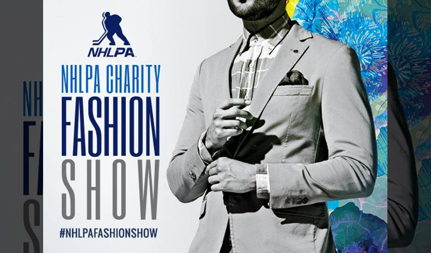 NHLPA Presents Charity Fashion Show