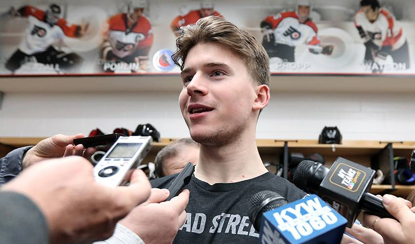 Good starts are nothing new for Carter Hart