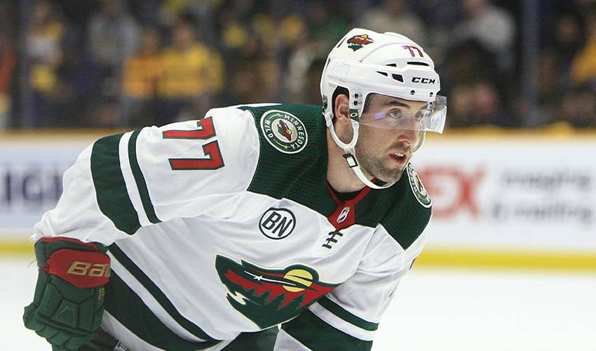 Wild ride for new dad and now an NHL regular, Brad Hunt