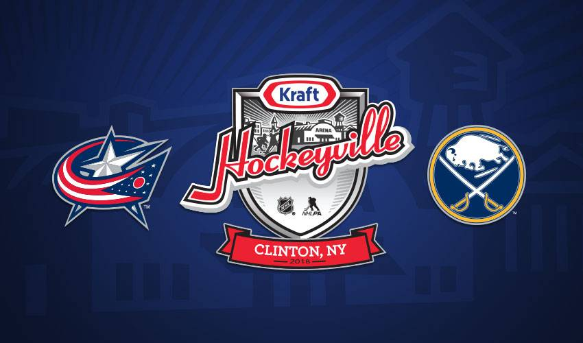 KHV USA 2018 to feature Sabres and Blue Jackets in NHL preseason matchup