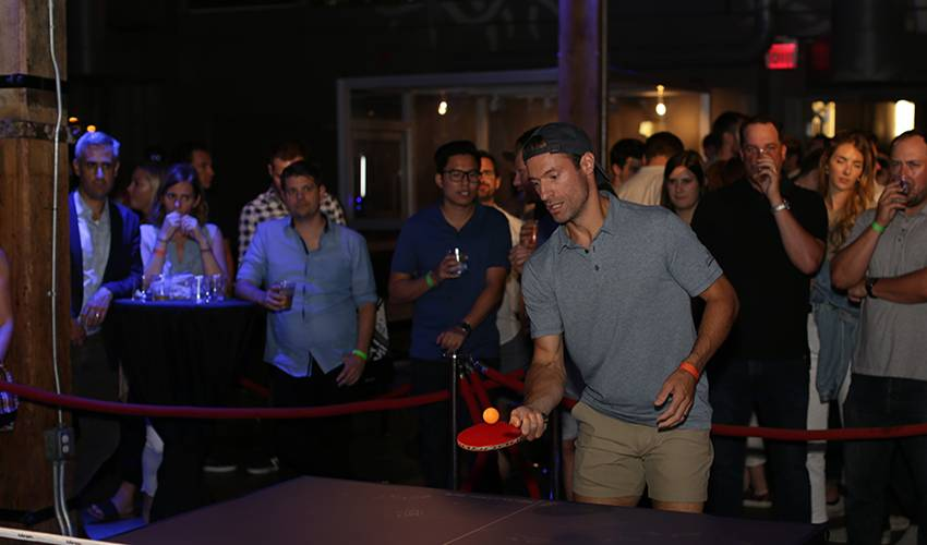 Dominic Moore serves up ninth annual Smashfest