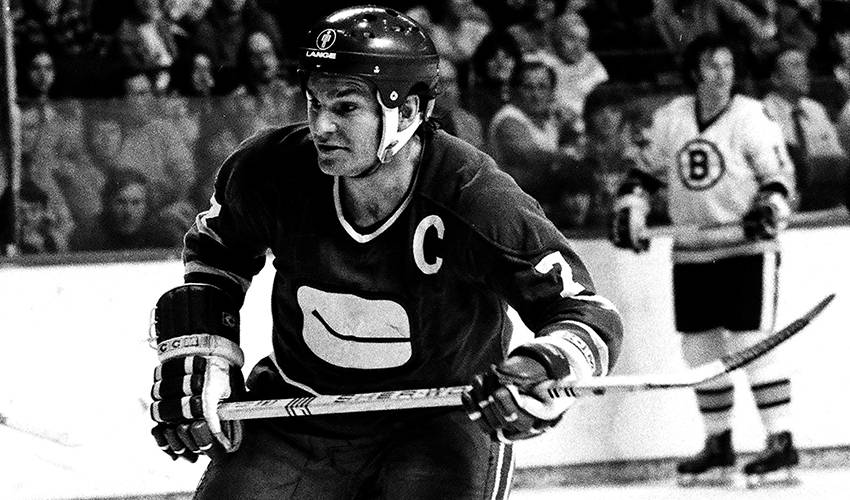 Andre Boudrias, one of the Vancouver Canucks' first offensive stars, dies at 75