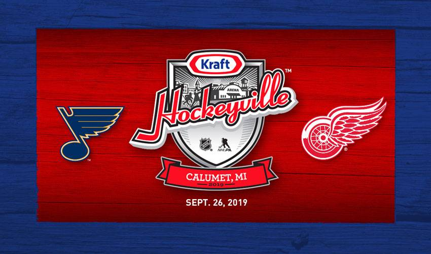 Kraft Hockeyville USA 2019 to feature Detroit Red Wings and St. Louis Blues