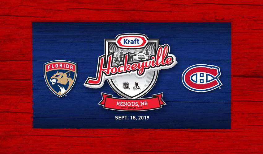 Canadiens and Panthers to face off at 2019 Kraft Hockeyville Canada