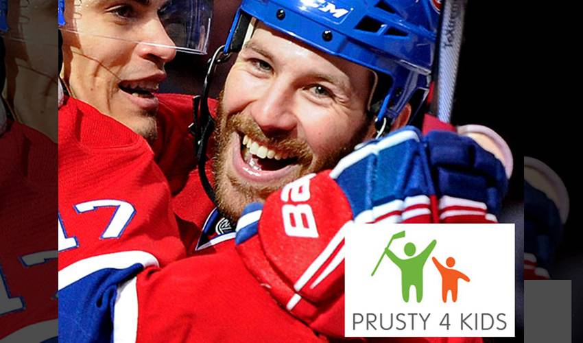 Prust Pours Positive Energy Into Charity