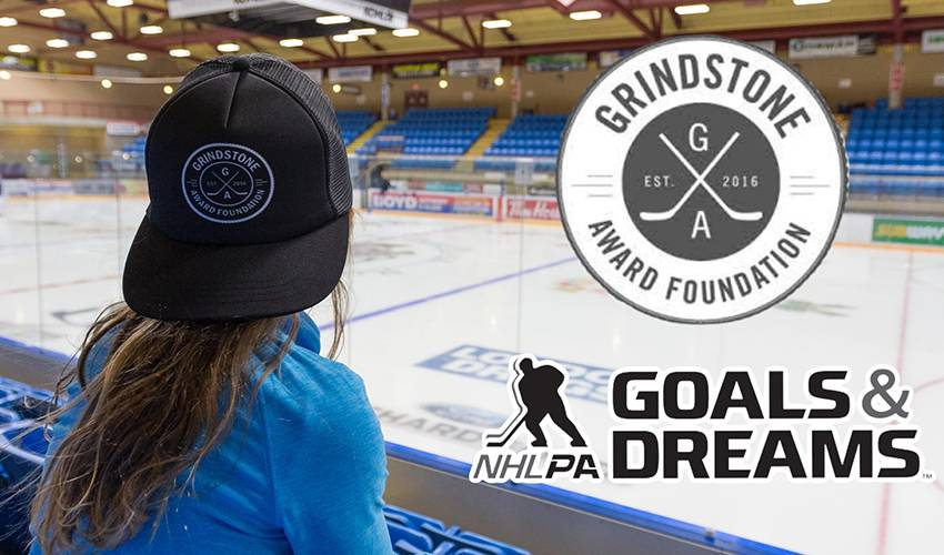 NHLPA G&D, Grindstone Award Foundation finding a way to help girls play