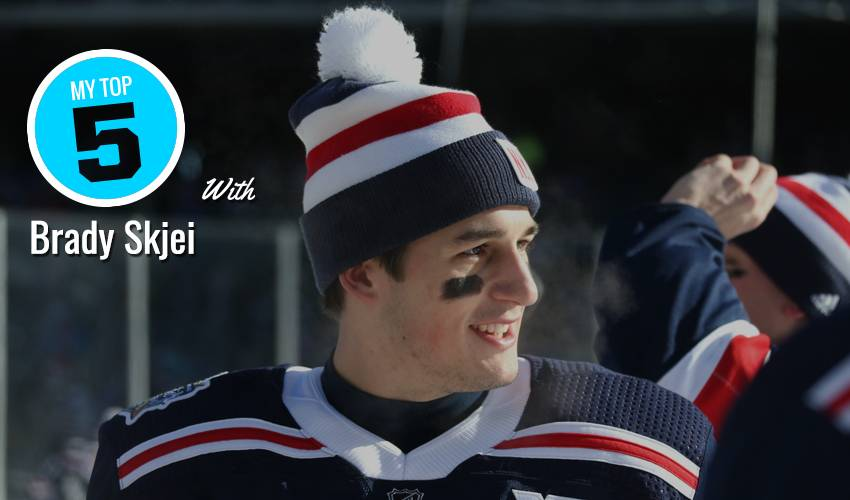 My Top 5 | Brady Skjei