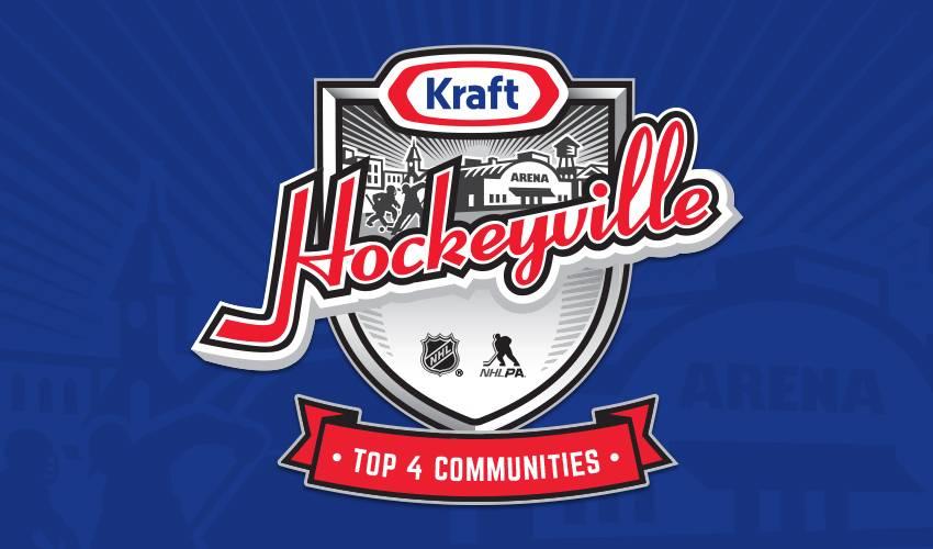 Kraft Hockeyville USA announces Top 4 Finalists; Live voting begins August 29