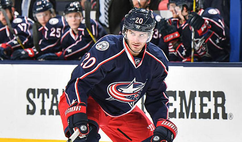 Blue Jackets strong start suits Saad just fine