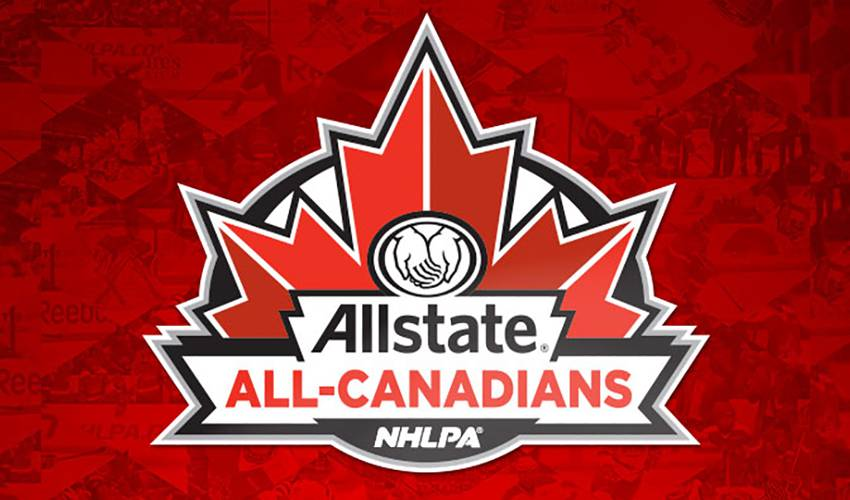 NHLPA Announce Third Annual Allstate All-Canadians Mentorship Camp