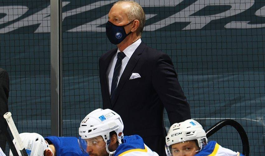 Sabres fire coach Krueger while in midst of 12-game skid