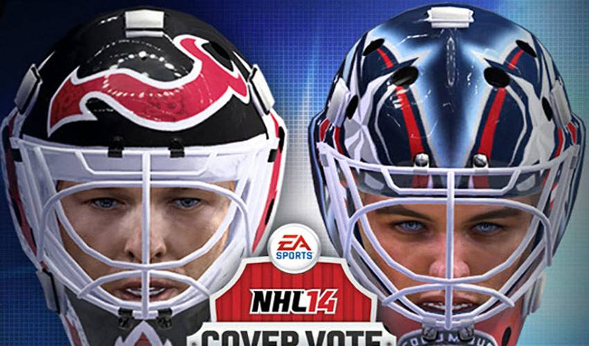 Brodeur and Bobrovsky Go Head-To-Head In EA NHL 14 Cover Vote Finals
