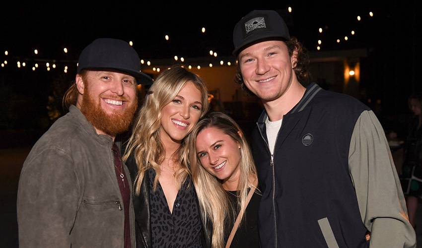Toffoli hat trick turns into assist for Justin Turner Foundation