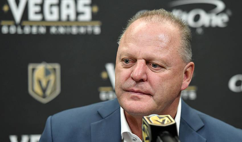 Golden Knights fire head coach Gallant after tumble from top of Pacific standings