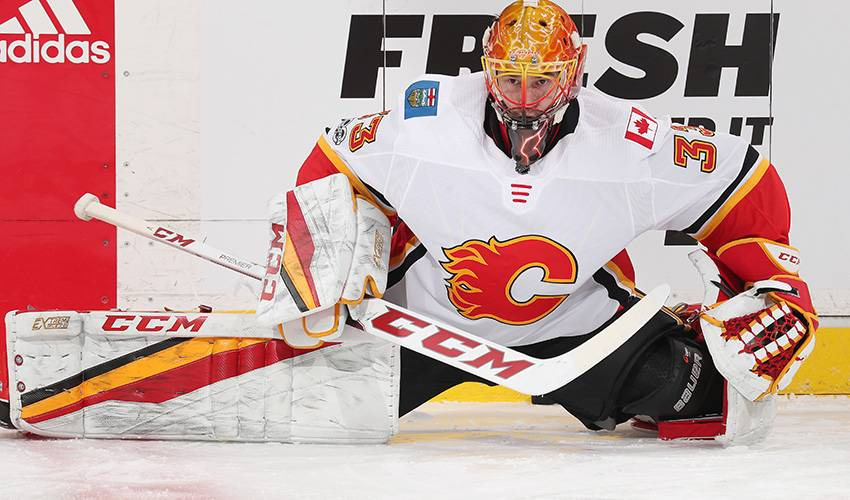 Calgary Flames ink goaltender David Rittich to one-year extension