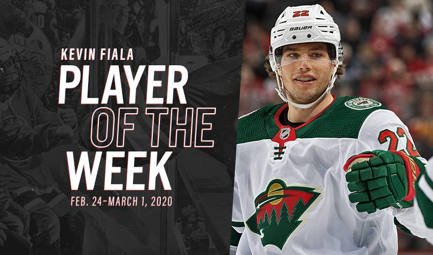 Player of the Week | Kevin Fiala