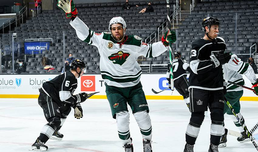 From prep school to point streak, humble Jordan Greenway quickly evolving