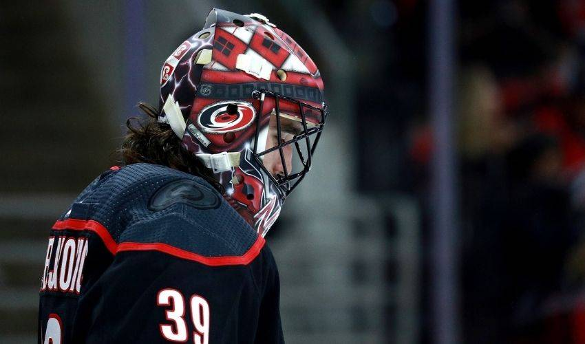 Hurricanes' Nedeljkovic takes lead in net as playoff rookie