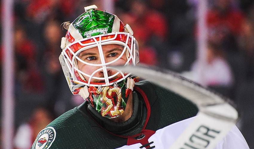 Wild give backup goalie Stalock 3-year contract extension