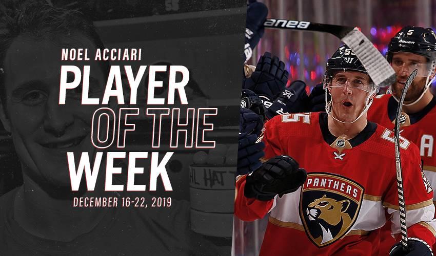 Player of the Week | Noel Acciari