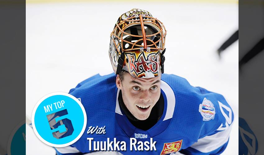 My Top 5 | Tuukka Rask