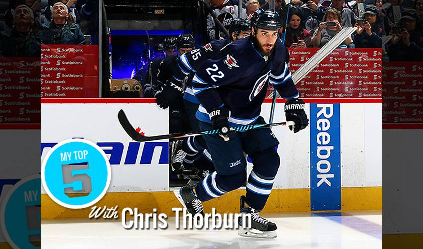 My Top 5 | Chris Thorburn