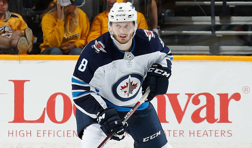 Jets' defenceman Jacob Trouba awarded 1-year, $5.5M contract by arbitrator