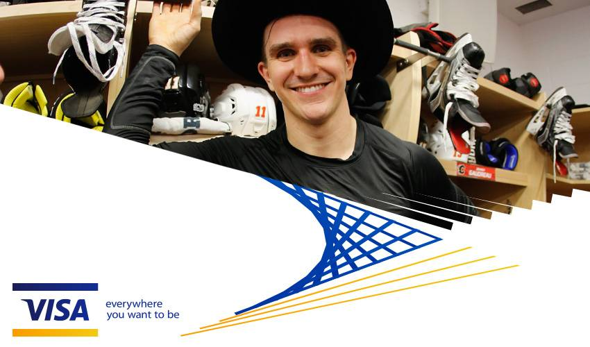 Visa Presents: Player Q&A with Mikael Backlund
