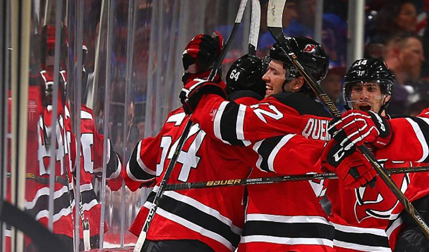 Blandisi and Quenneville having devil of a time in Jersey