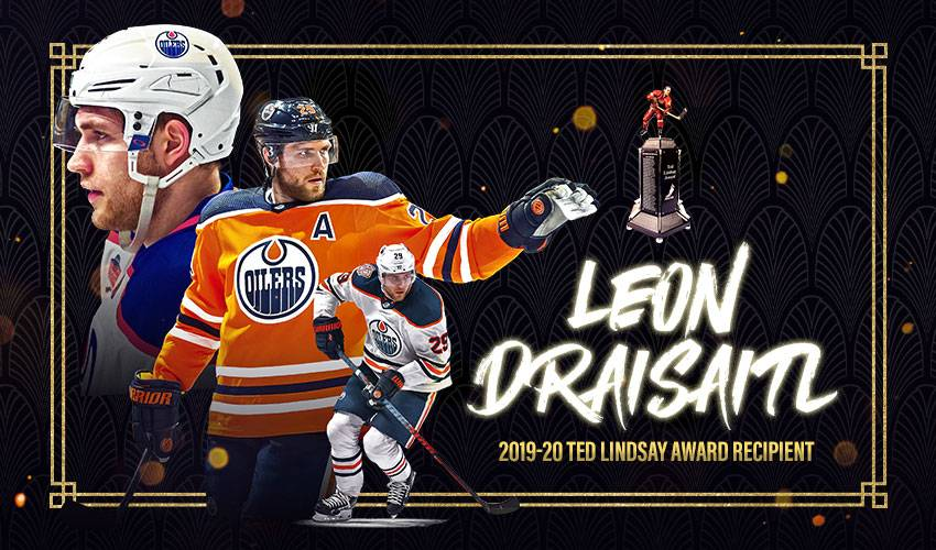 Leon Draisaitl receives players' vote for 2019-20 Ted Lindsay Award