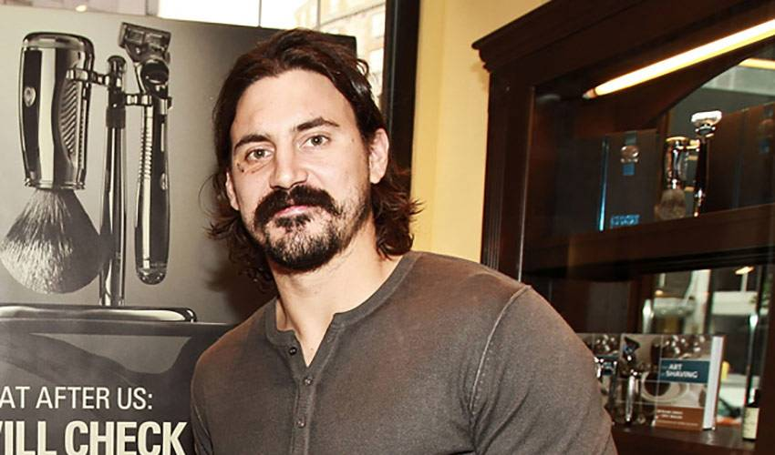 Movember Battle: George Parros and Mike Brown Go Stache to Stache