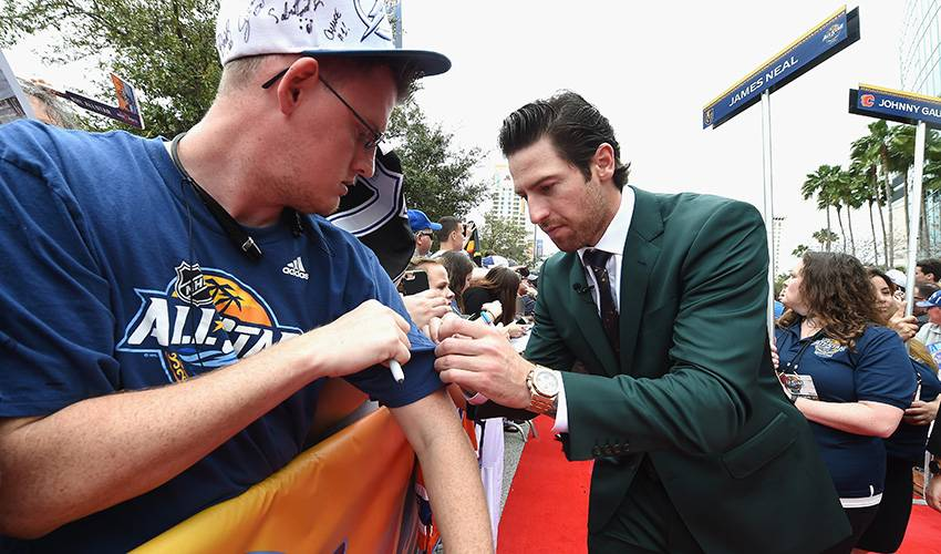 Forward James Neal signs five-year deal with Calgary Flames