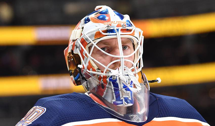 Oilers sign goalie Mikko Koskinen to three-year contract extension