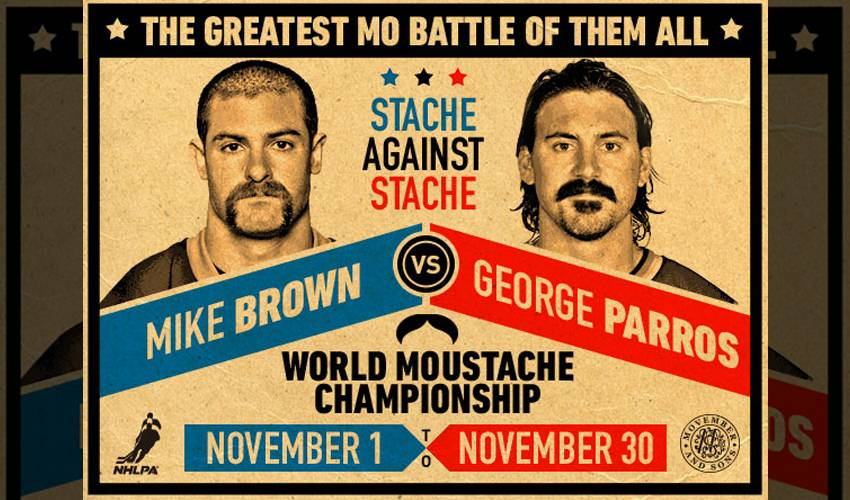 Parros & Brown Make the Most of Movember