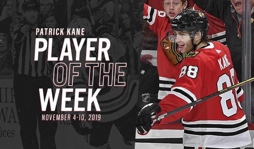 Player of the Week | Patrick Kane